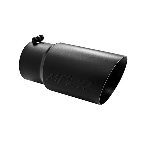 EXHAUST TIP HIGH HEAT RESISTANT DOUBLE WALL ANGLE , L12