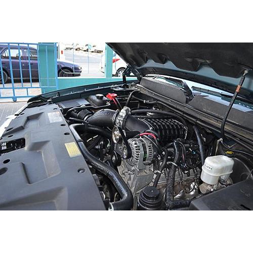 Silverado / sierra - includes flex fuel 4.8l 5.3l 2011-2012 magnuson superchargr           01-19-59-995-bl