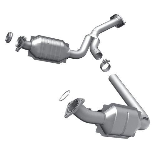 Rect-fit catalytic converter 07-08 gm trucks/suvs 49194