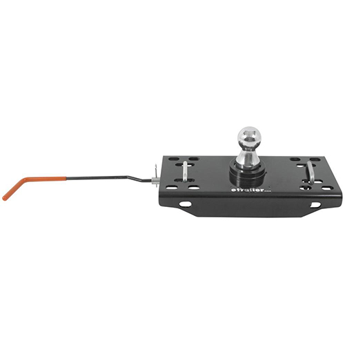 Hide-a-goose underbed gooseneck trailer hitch with installation kit - 30,000 lbs 9465-54