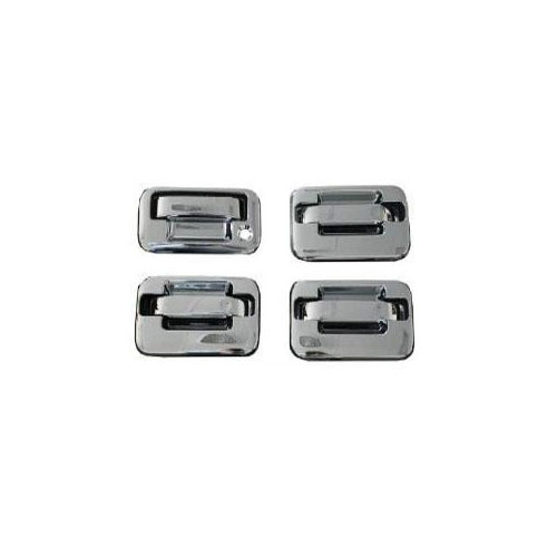 04-14 f150 cc abs chrome door handle cover no key pad,w/out passenger side keyho ccidh68110b1