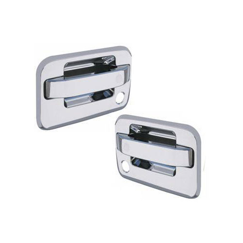 04-14 f150 rc abs chrome door handle cover no key pad, w/passenger side keyhole ccidh68109b2