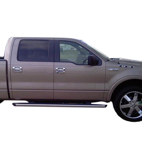 04-14 f150 rc abs chrome door handle cover w/key pad,w/out passenger side keyhol ccidh68109a1