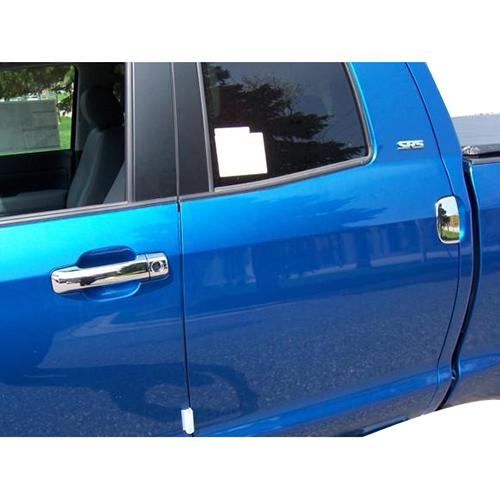 07-15 TUNDRA DC ABS DOOR HANDLE COVERS,NO PASS SIDE KEYHOLE,W/HALF MOON R/DOOR CCIDH68509B_2