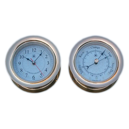 Marine clocks & barometer