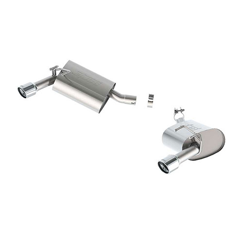 BORLA TOURING REAR SECTION EXHAUST SYSTEM 11847_2