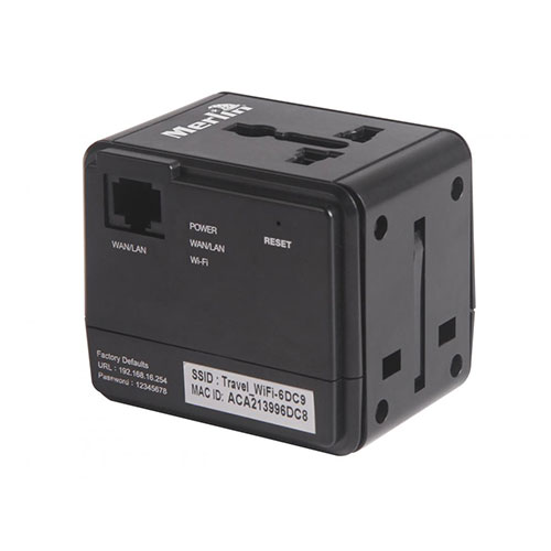 Wi-fi travel adaptor