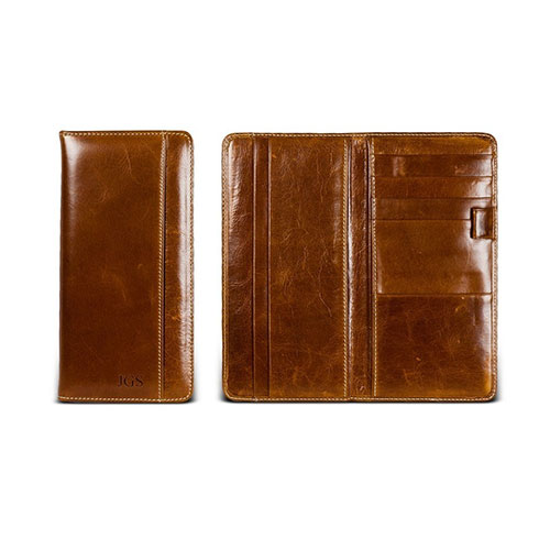 The travel organizer - florentine leather