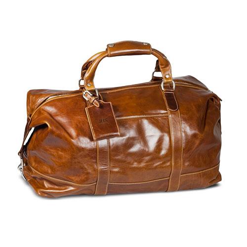 The Captain's Bag - Florentine Leather_2