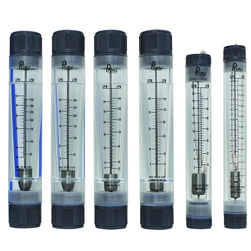 Acrylic tube type flow meter