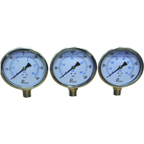 4 inch pressure gauge