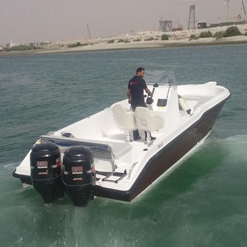 Al marakeb dino 31 large family boat