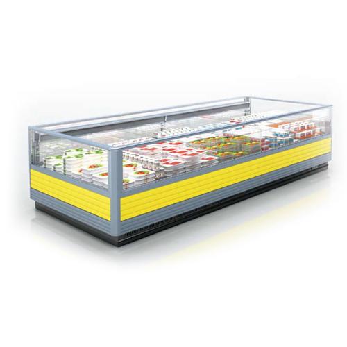 Island type freezer