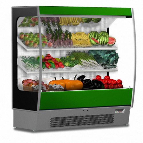 Vertical cabinets for veg&fruit chiller
