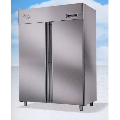 Chiller steel double door