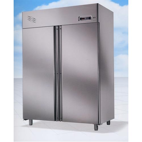 Freezer steel double door