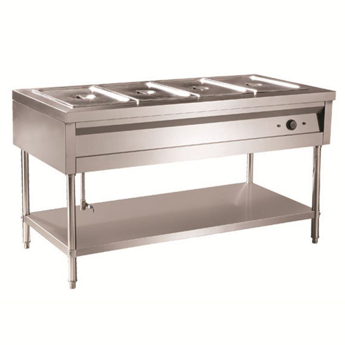 Bain marie without glass&store