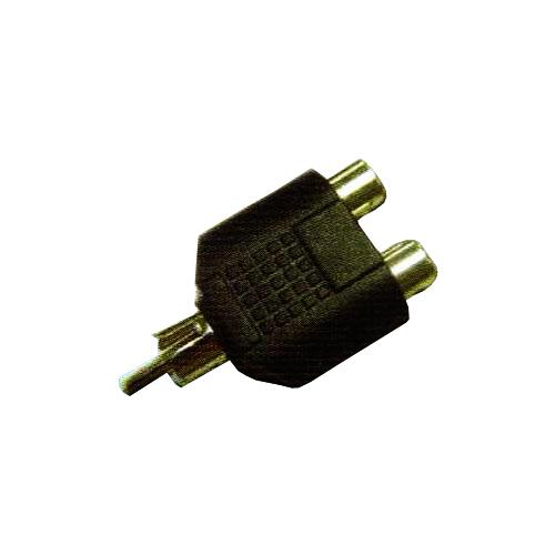 Rca plug-2xrca jacks cad2238