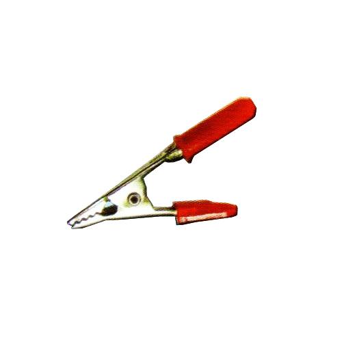 Alligator clip w/ screw moulded handle cl4016