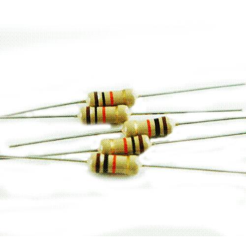 1/2 w carbon film resistor