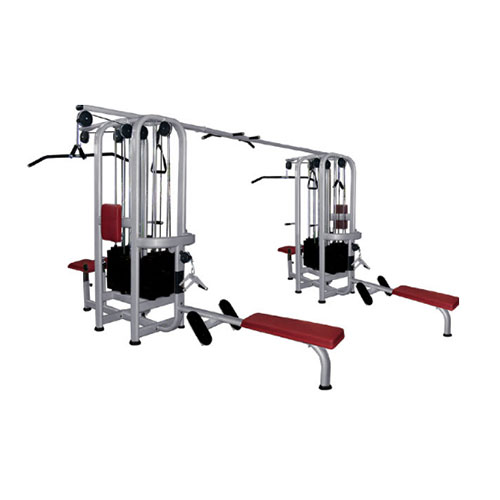 Strength equipments fm – 1008 – multi jungle 8 stack