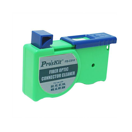Fiber optic connector cleaner fb-c010