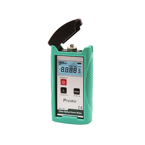 Fiber optic power meter mt-7601