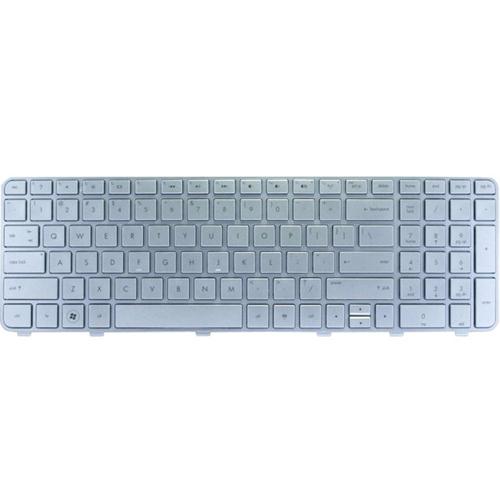 Genuine HP Silver Frame Keyboard Compatible V122603BS1 English/Arabic_2