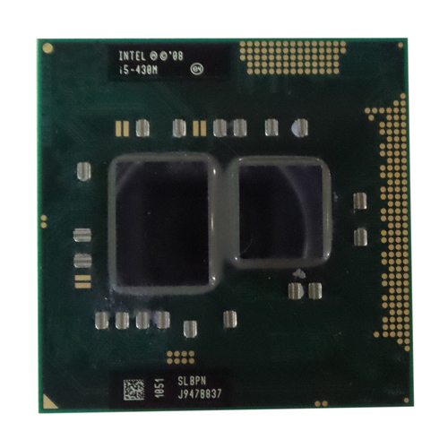 Intel core i5-430m processor  (3m cache, 2.26 ghz) slbpn