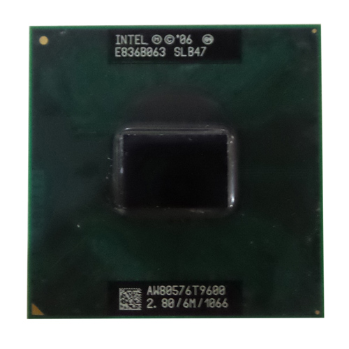 Intel core 2 duo processor t9600  (6m cache, 2.80 ghz, 1066 mhz fsb) slb47