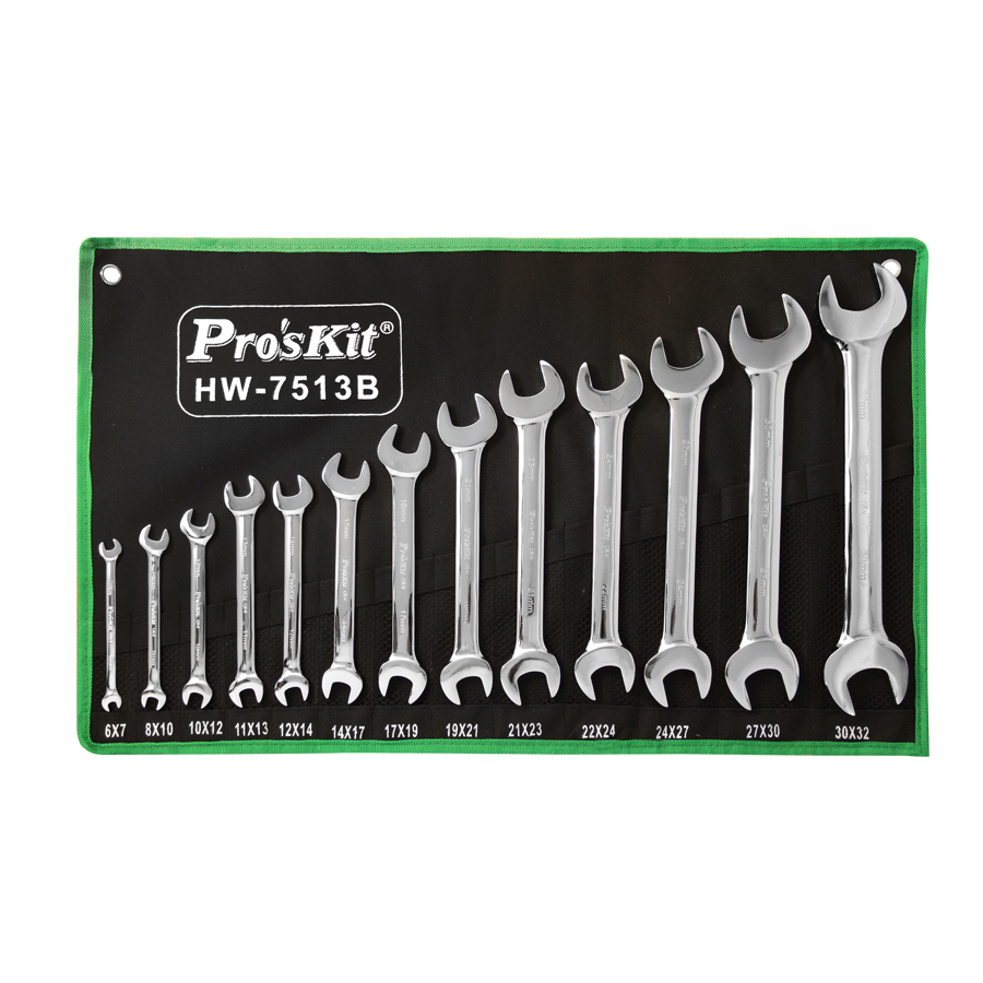 Hw-7513b : double open end wrench
