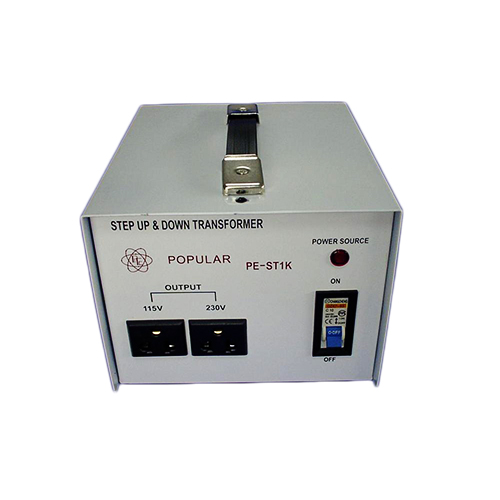 PE-ST1K Step UP and Down Transformer_2