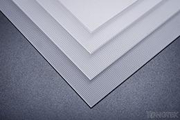 Linear (fresnel) diffuser