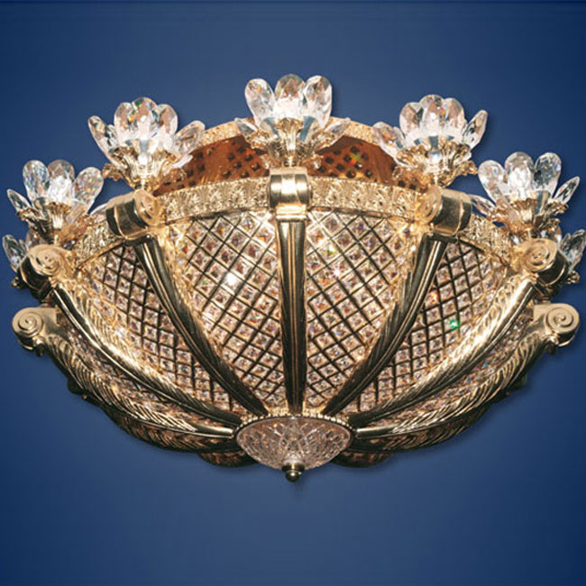 KNY DESIGNS K 3725 WATER LILY CEILING LIGHT_3