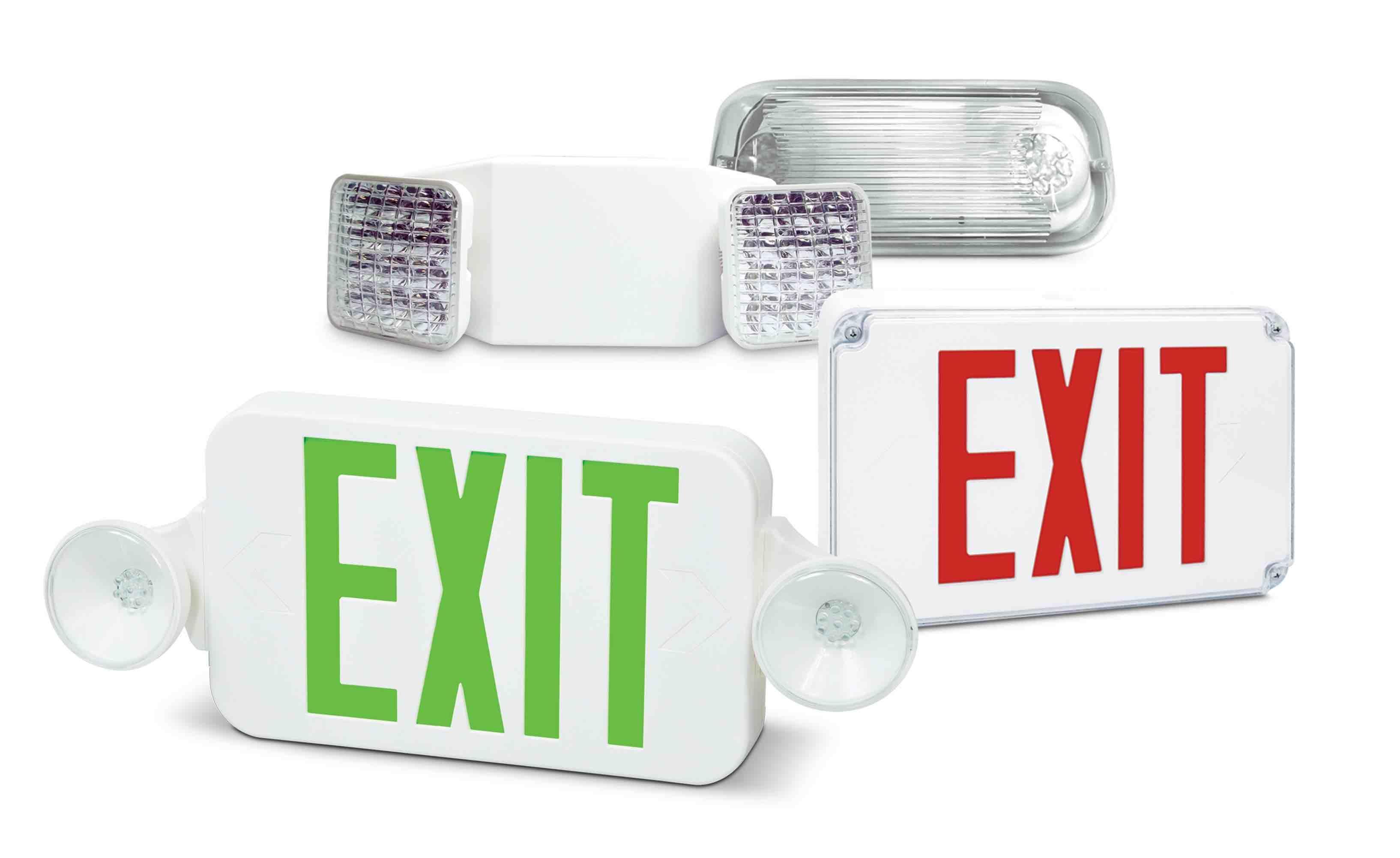Fhec33 – led exit emergency combo unit