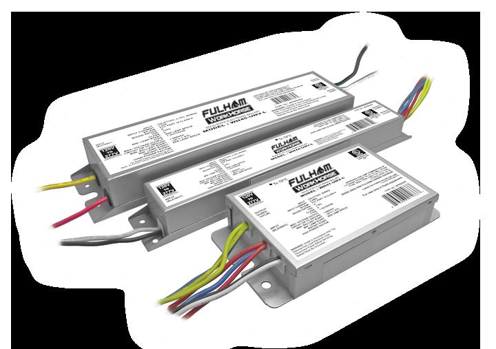 Workhorse universal voltage fluorescent ballasts wh44-unv-l