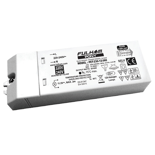 India series dimmable halogen transformers