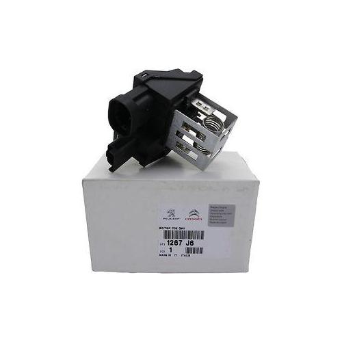 Peugeot 1267 j6 radiator fan resistor