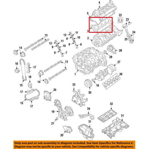 OEM Nissan 11044-1LA0A Cylinder Head Gasket_2