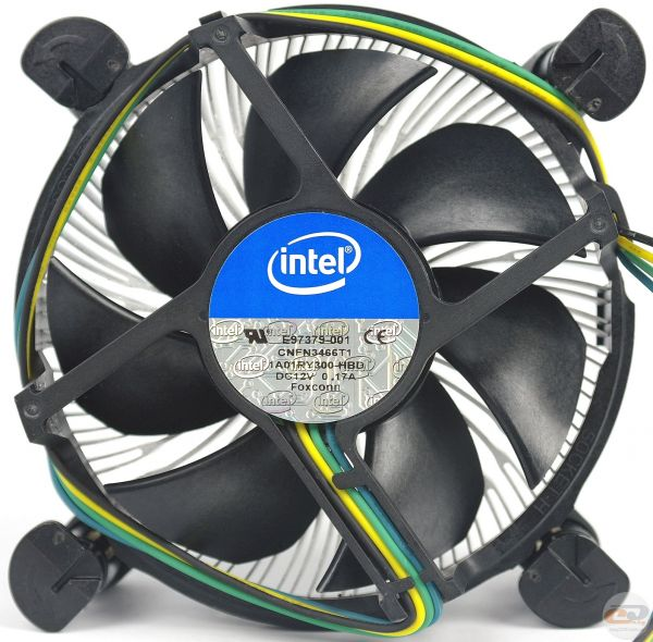 Intel cpu cooling fan