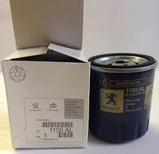 Peugeot 1109 al oil filter