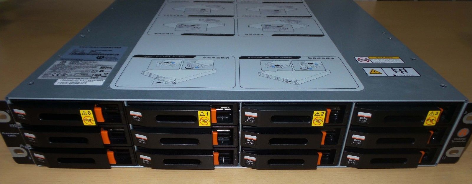 Huawei Storage Symantec Oceanspace S2600 12x 2TB 0231G520 + software + license_8