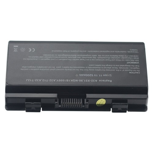 Replacement Laptop Battery for ASUS A32-X51 A32-T12 T12C T12ER X51H X51L X51C X58L X58LE Li-ion 6 Cell 11.1v 5200mAh/58WH 1_3
