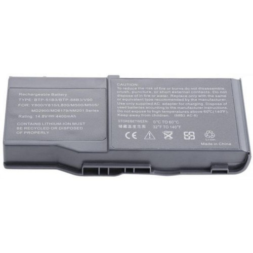 Laptop replacement batteries for acer-68b3 8b1 battery for btp-68b3/v90 ,y800,y810,l800,m500,series