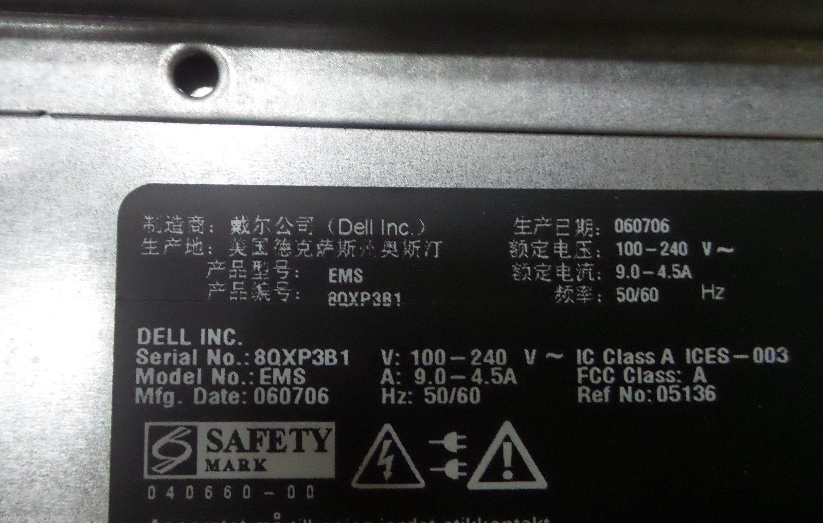 EMC 100-561-680 2U STORAGE APPLICATION SERVER Dell EMS_4