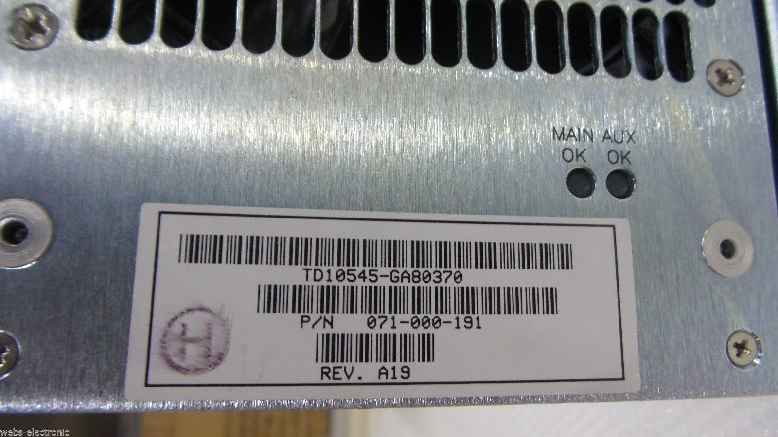 EMC 071-000-191 DMX1000/2000 175W Power Supply td10545-ga80370_3