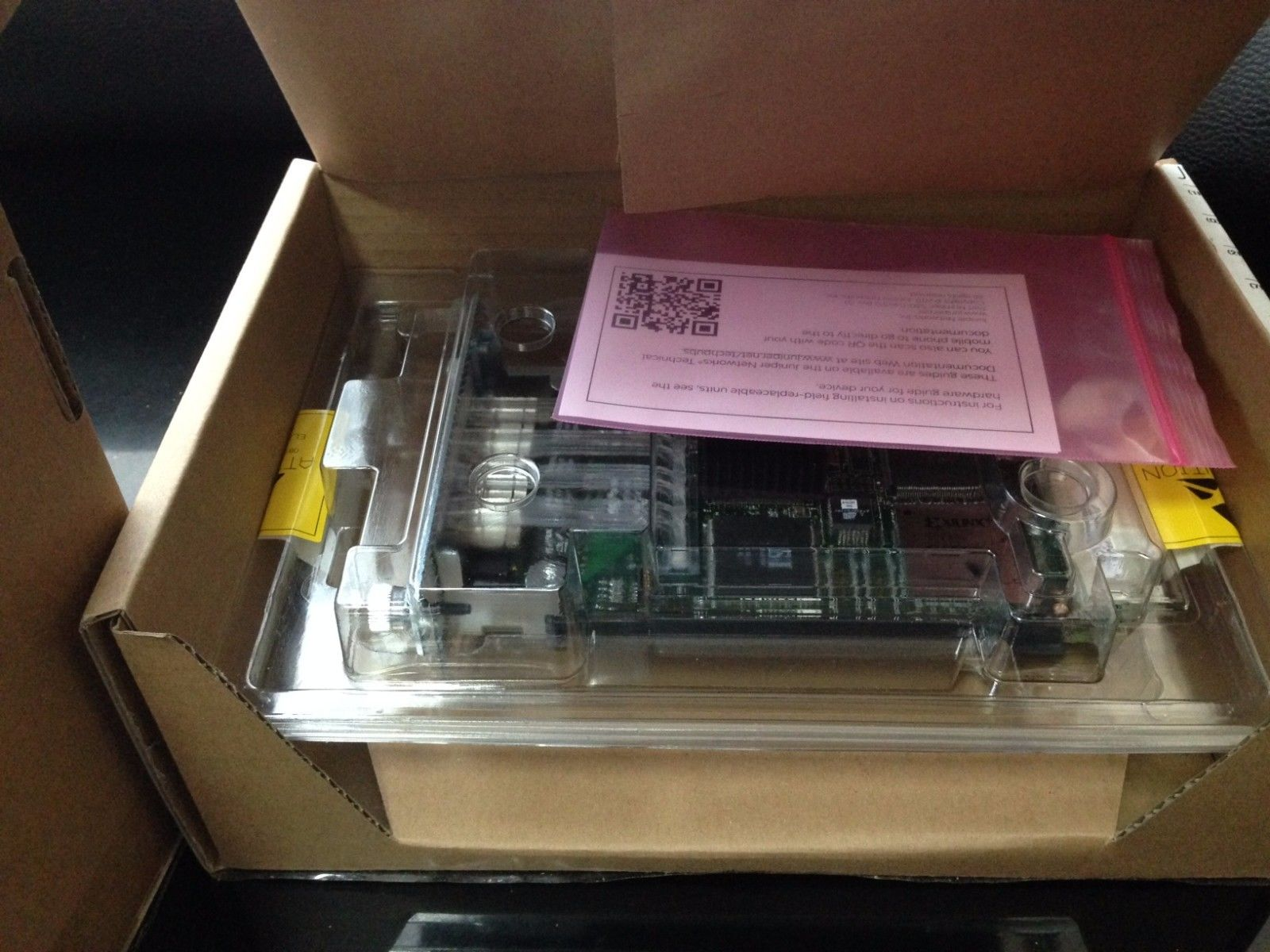 New Juniper PB-4FE-TX 4-port 750-002911 Networks 4 Port Fast Ethernet PIC TX_5