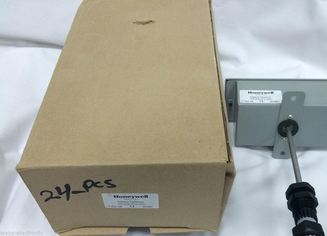 Lot of 10 honeywell pr-276-r12-vdc duct pressure transducer pr276