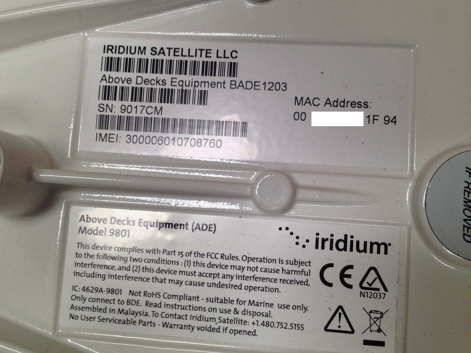 Set-of-iridium-pilot-Satellite-Decks-BADE1203-Below-Decks-Equipment-Model-9701_4
