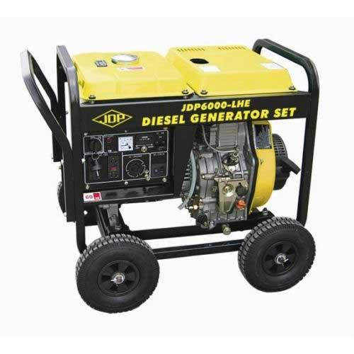 Sigma 7000 watt open frame diesel generator with electric start / jdp7000-lhe